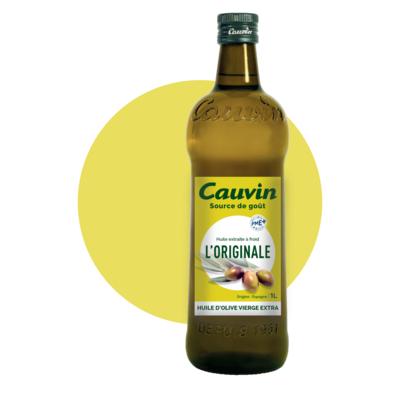 CAUVIN OLIVE OILS  ORIGINAL OLIVE EXTRA VIRGIN OIL  ORIGIN EU 1 L ( 7 products in this range)