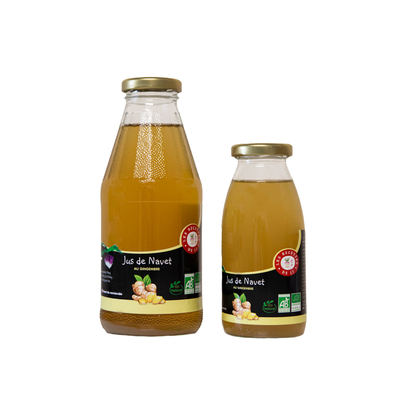 Turnip juice with ginger