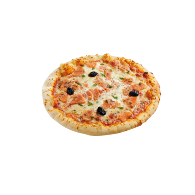 Smoked Salmon pizza 470 G SOLE MIO wood-fired frozen