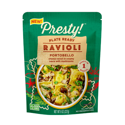 Presty! Ready-to-eat-meal Ravioli