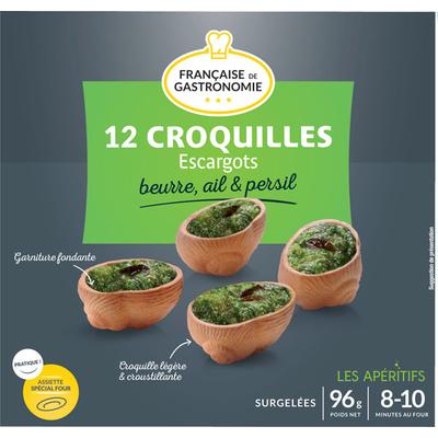 Escargots bites « Croquilles »