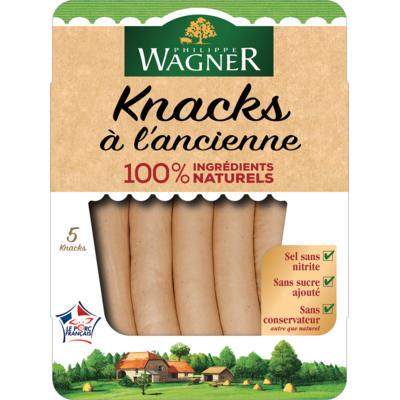 Traditional Knack sausage