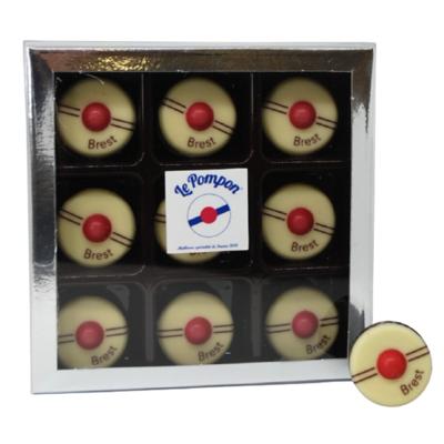 Box of 9 Pompons