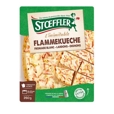 Tarte Flambée - Flammenkuche - A tasty alternative to pizza