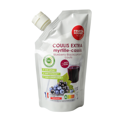 Ambiant Blueberry -Blackberry Coulis, 500g doypack