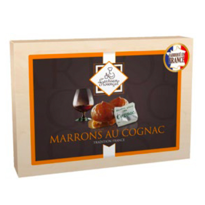 8 candied chestnuts COGNAC