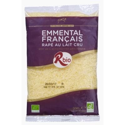 Grated Emmental  with raw milk 1Kg- 200gr- 70gr