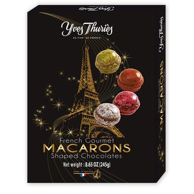 MACARONS SHAPES CHOCOLATES ASSORTMENT