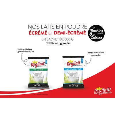 Granulated milk powder Régilait - 500 g pouch
