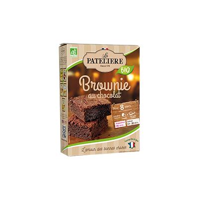 Organic & gluten-free brownie mix - 280g