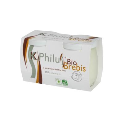 2x125gr K-Philus BIO - organic whole ewe's milk