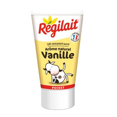 Full cream sweetened condensed milk  REGILAIT brand  60g Squeeze tube