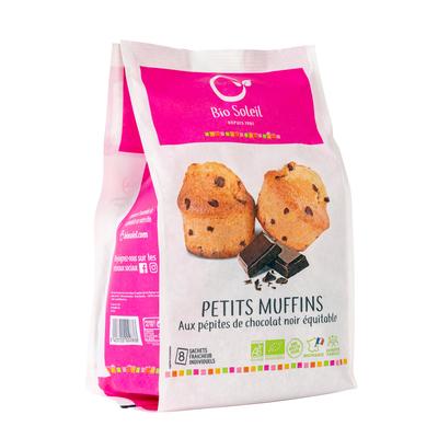 PETITS MUFFINS AUX PEPITES DE CHOCOLAT NOIR EQUITABLE 224G