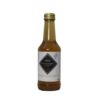 Organic vanilla vinegar