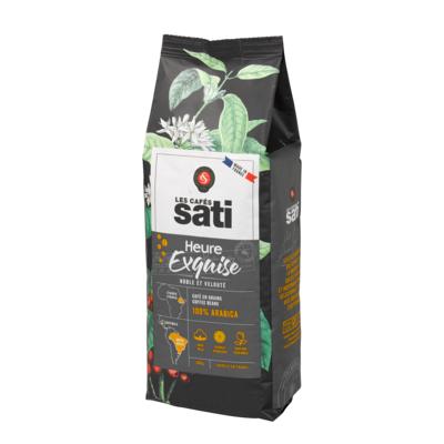 Café Sati Exquisite hours coffee beans 500g