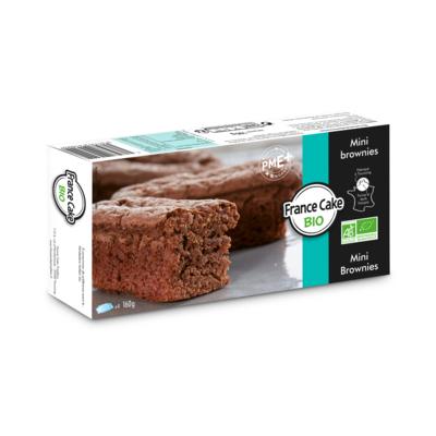 ORGANIC Mini brownies 40gr*4 : 160g  France Cake Bio