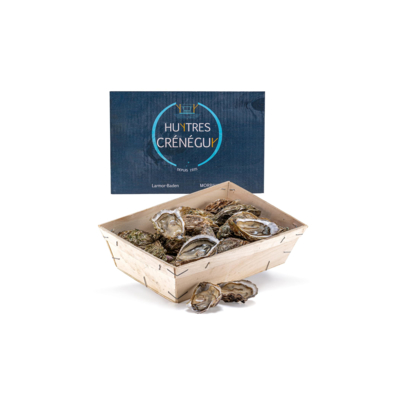 Basket 24 Cupped Oysters n°4