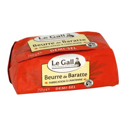 Beurre de baratte demi-sel moulé 250g Le Gall