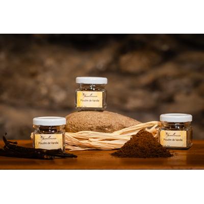 Vanilla powder (Réunion Island)