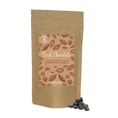 Dark Chocolate with Saffron