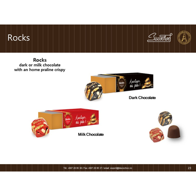 ROCHER DU CAILLOU chocolate