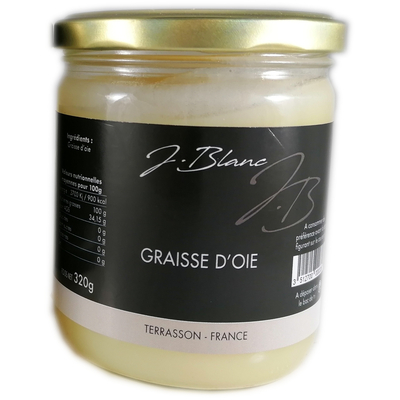 Goose fat, glass jar 320gr