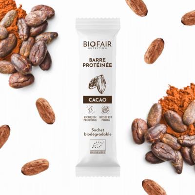 Organic protein bar - Cocoa