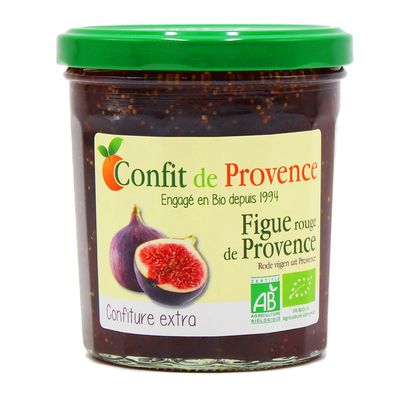 ORGANIC EXTRA JAM 370g - CONFIT DE PROVENCE  - RED FIG FROM PROVENCE