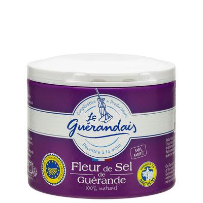 Flower of sea salt from Guérande box 125gr