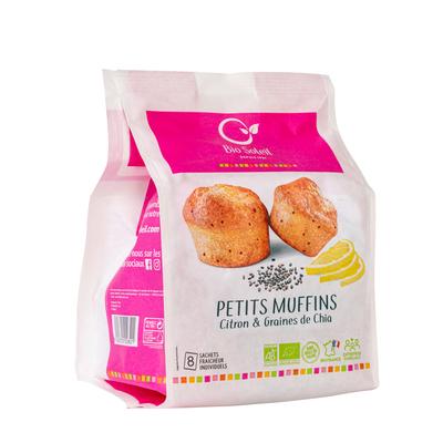 PETITS MUFFINS CITRON & GRAINES DE CHIA 224G