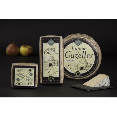 Cazelles cheese range by Gabriel Coulet