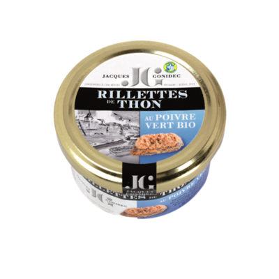 Rillettes of white tuna with organic sundried tomatoes 90g