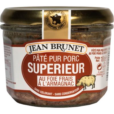 Superior Pure Pork Pâté with fresh liver with Armagnac