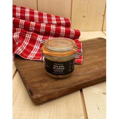 Whole Label Rouge duck foie gras semi-cooked in Jurançon - 180g