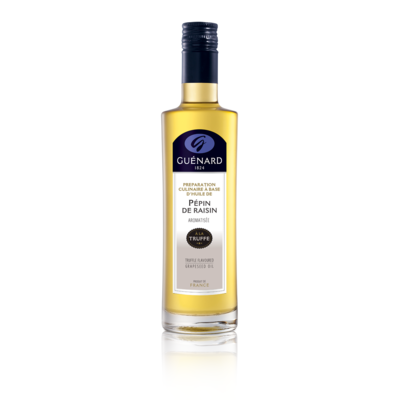Black Truffle flavored grapeseed Oil  from France