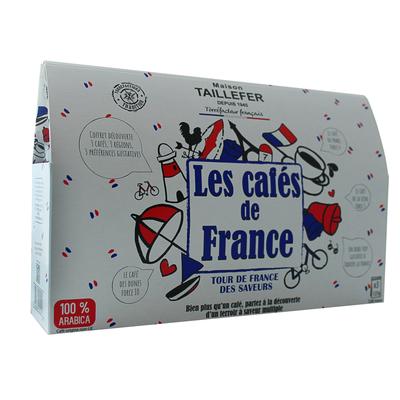 French coffee case (Café du Phare, Café de la Seine, Café des Dunes) 3x125g