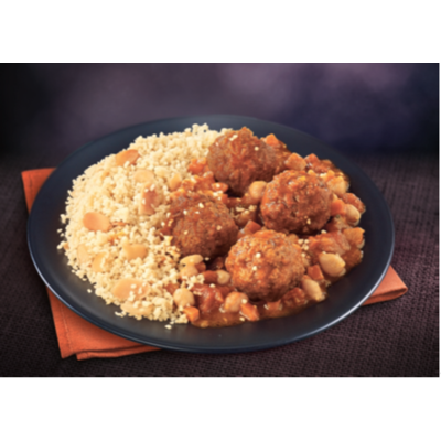Ready Meals - Couscous Veggie with Soy balls