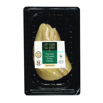 """Frozen duck foie gras extra """"Selection du Chef"""" deveined"""