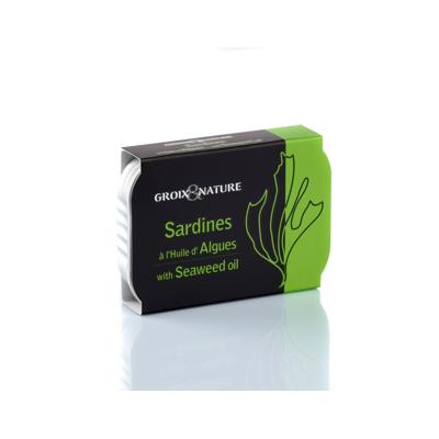 SARDINES WITH SEAWEED OIL