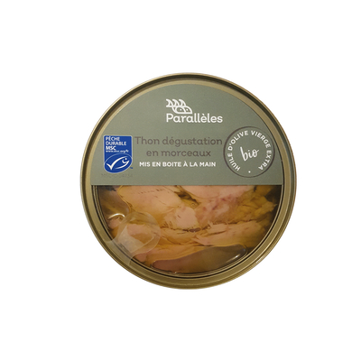 MSC Tuna in organic extra virgin olive oil