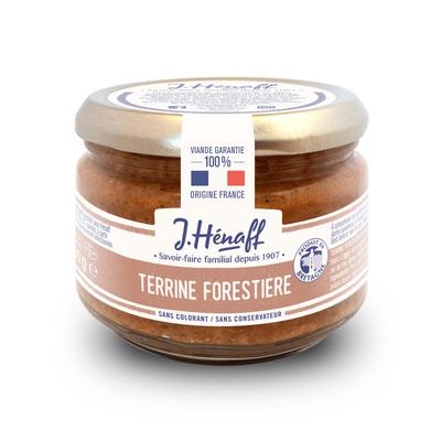 Pork Pâté With Forest Mushrooms 180g   Jean Hénaff
