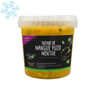 Mango yuzu mint tartar