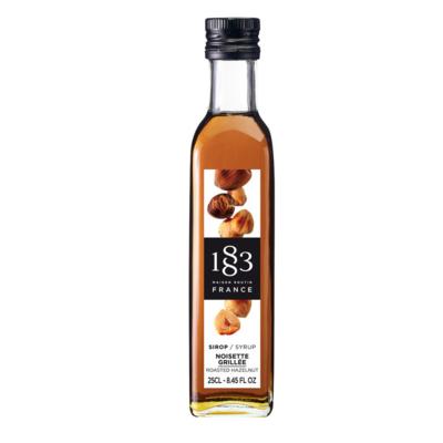 1883 Roasted Hazelnut Syrup 250ml