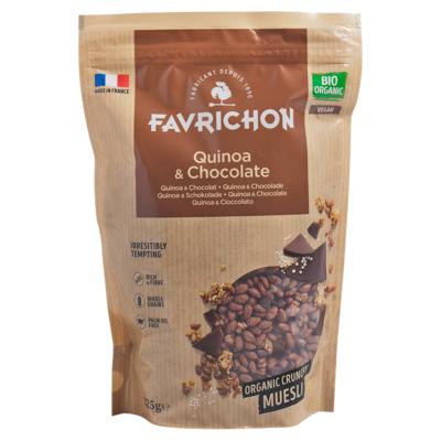 Quinoa & Chocolate Crunchy Muesli