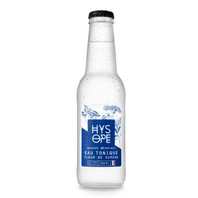 Organic Elderflower Tonic Water HYSOPE