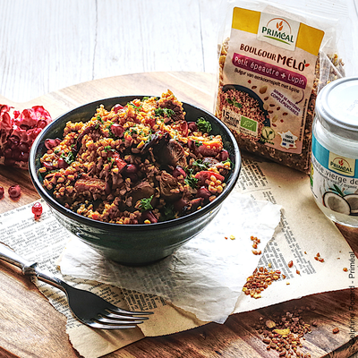 Tasty range of organic pasta, couscous, bulgur and cereals