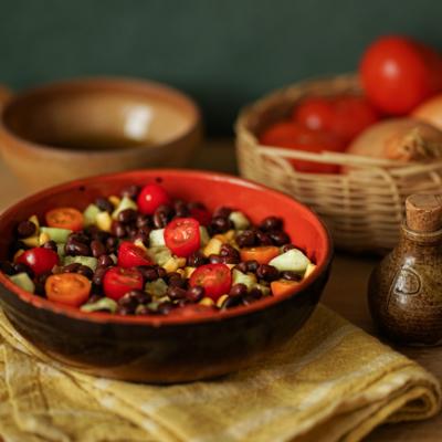Azukis beans with fresh aromatic herbs - Organic & Vegan - 400g