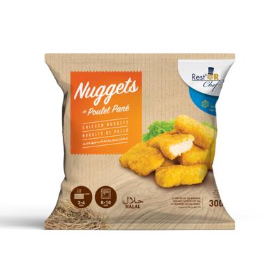 Breaded chicken nuggets 300g