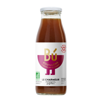 Le Charmeur - Bouillon de Champignons bio 50cl / The Charmer - Organic mushroom broth 50cl