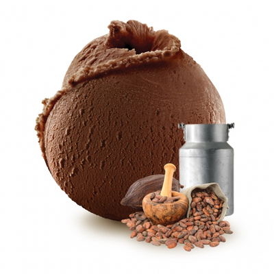 Guanaja chocolate fresh milk ice cream